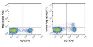 Anti-FOXP3 Mouse monoclonal antibody FITC (Fluorescein) [clone: 3G3]
