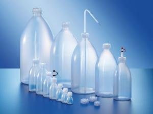 Wash bottles, narrow neck