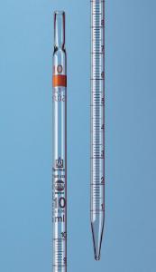 Messpipetten, SILBERBRAND ETERNA, Typxa02, Klasse B, völliger Ablauf
