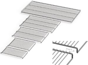 Reinforced stainless steel grids for Memmert ICP cooled incubators